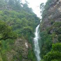hidden waterfall east java indonesia