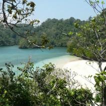 beautiful beach on east java, indonesia